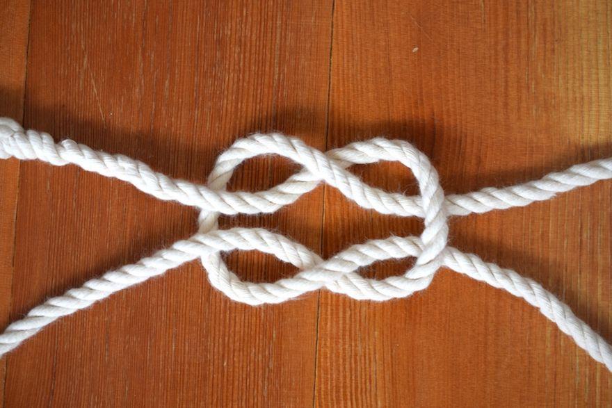 さつま編み(アイスプライス)には3つ打ちロープ