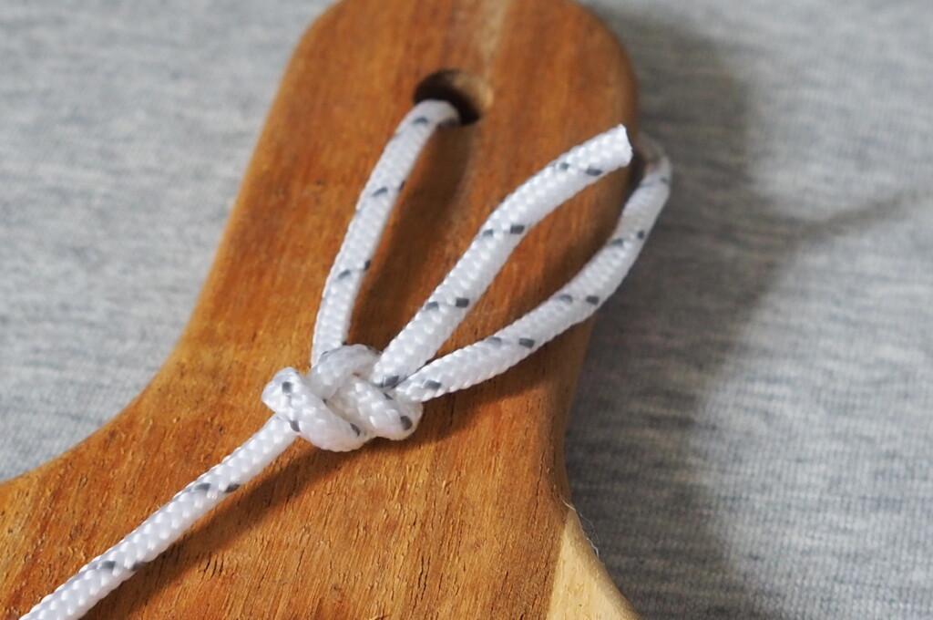 【ロープの編み方その7】もやい結び