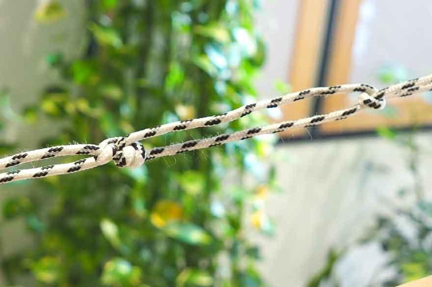 【ロープの編み方その8】自在結び