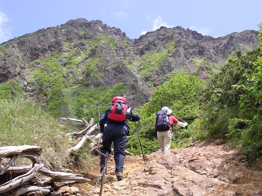 赤岳を登る際の代表的なコースをご紹介